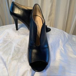 "Nine West Bootie 4"" heel Open Toe"